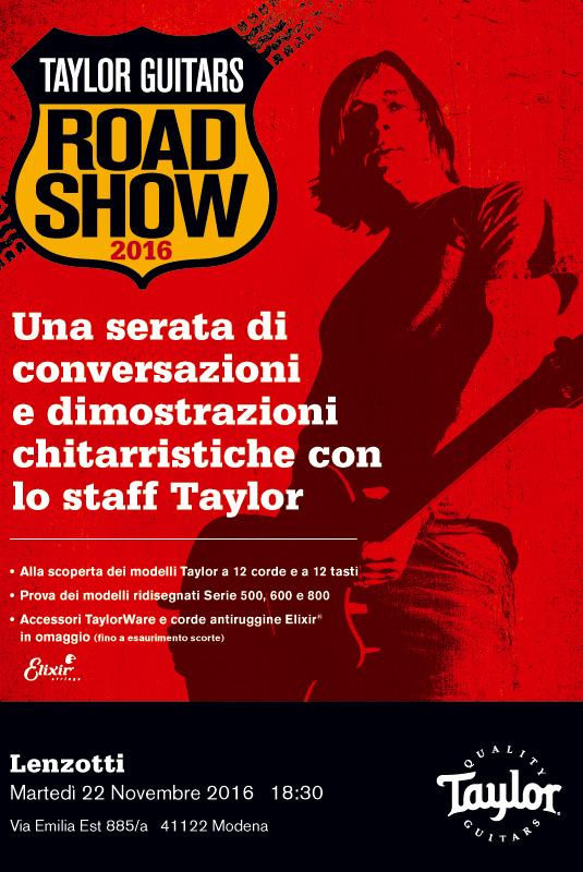 taylor road show 2016