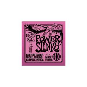 Ernie Ball Power Slinky Guitar Strings 11/48 2220