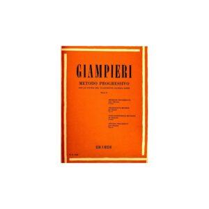 Giampieri Metodo Progressivo per Clarinetto Parte II ER1522