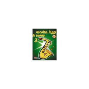 Ascolta Leggi & Suona 3 Saxofono Contralto+cd