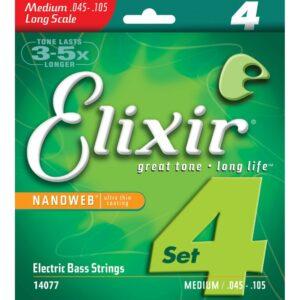 Elixir Electric Bass Strings 045 105 14077