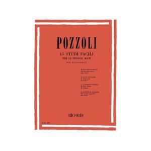 Pozzoli 15 Studi Facili per Pianoforte ER436