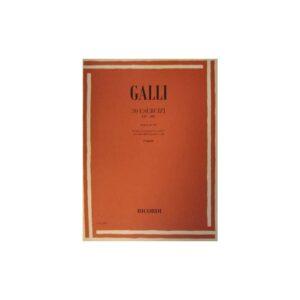 Galli 30 Esercizi Op.100 per Flauto ER2909