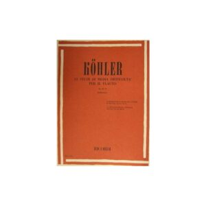 Kohler 12 Studi di Media Difficoltà Per Flauto Op.33 II ER2793
