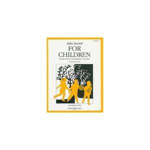 For Children Bela Bartok vol.1