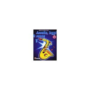 Ascolta Leggi & Suona 1 Saxofono Tenore + CD