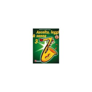Ascolta Leggi & Suona 3 Sassofono Tenore + CD