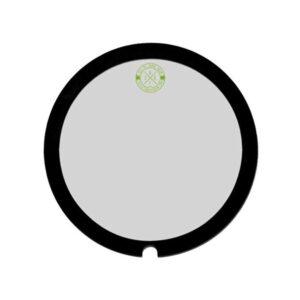 "Big Fat Snare Drum Green Monster 14"""