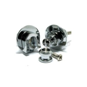 Strap Locks Schaller Chrome
