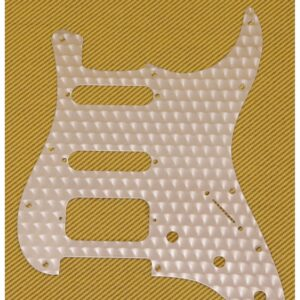 Fender Engine Turned Clear Aluminum HSS Stratocaster Pickguard