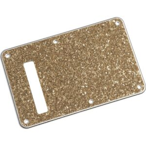 Fender Stratocaster Backplate Aged Glass Sparkle