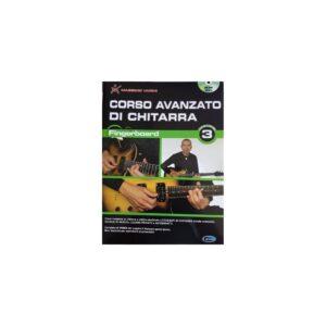 Corso Avanzato di Chitarra Fingerboard Vol.3 M.Varini ML3585 dvd rom incluso