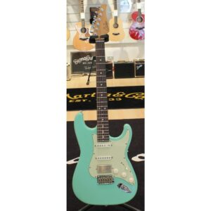 Suhr Classic S Antique Roasted Surf Green