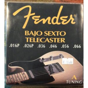 Fender 1090 Bajo Sexto Telecaster A-tuning Strings Set