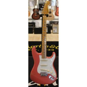 Fender 1960 Stratocaster Heavy Relic Aged Black Custom Shop
