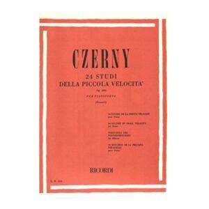 Czerny 24 Studi della Piccola Velocità Op.636 ER230