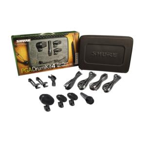 Shure PGADRUMKIT4 Kit da 4 microfoni per batteria